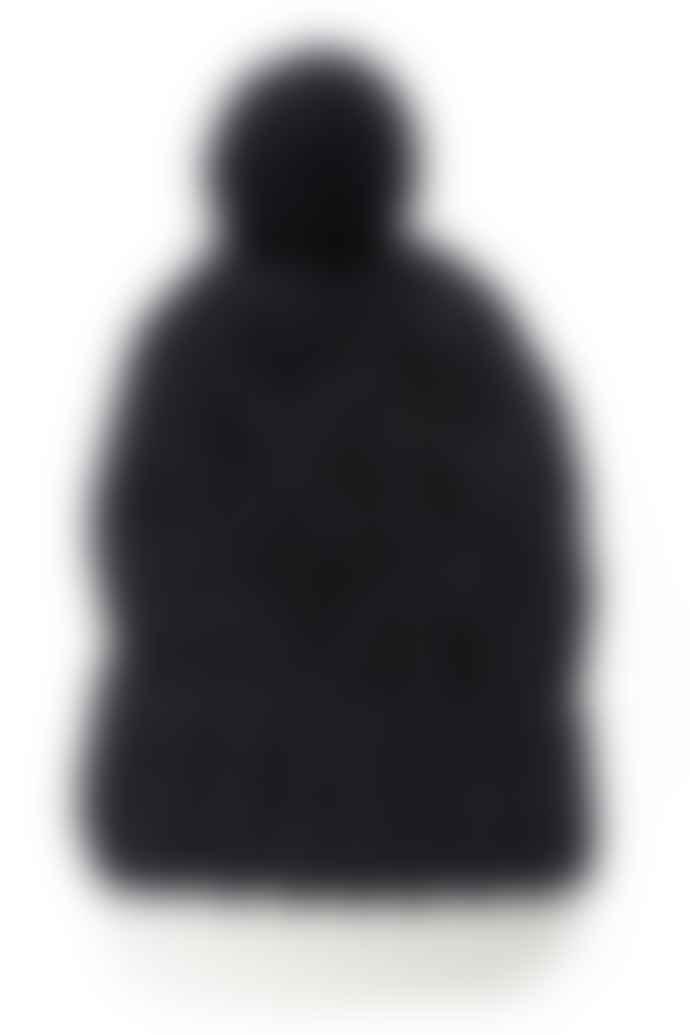 Bibico Black Knitted Wool Bobble Hat