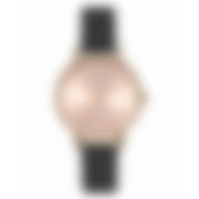 Olivia Burton Midi Dial Black & Rose Gold Watch