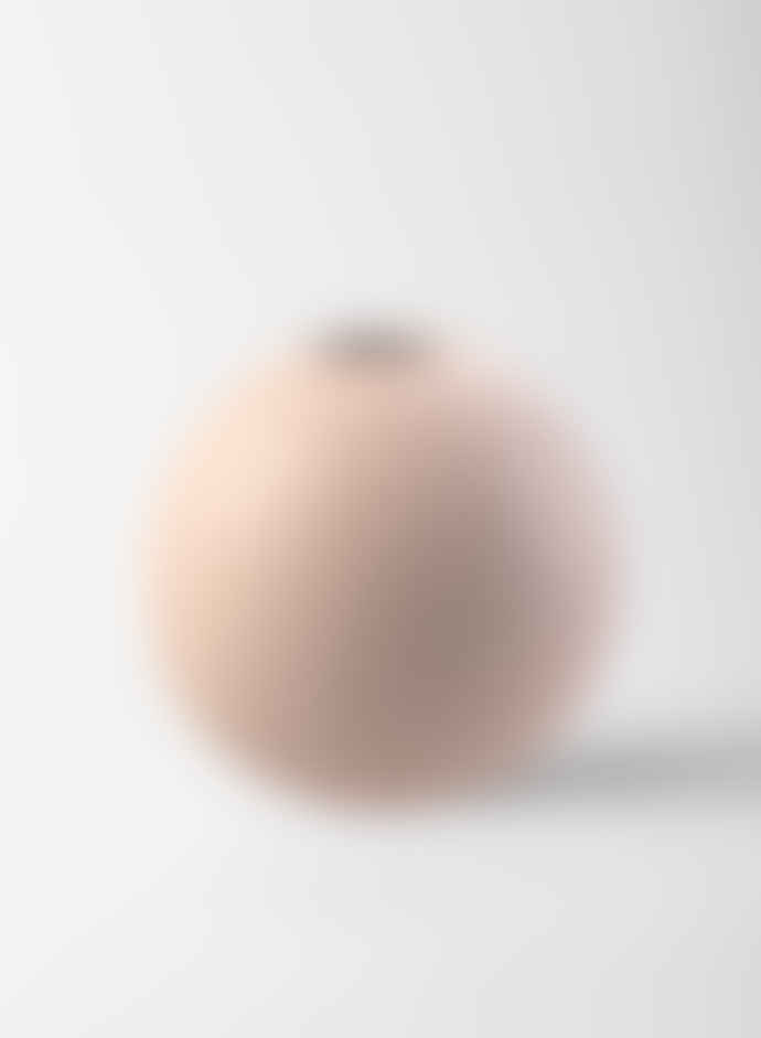 Cooee Design 20 Cm Dusty Pink Ball Vase