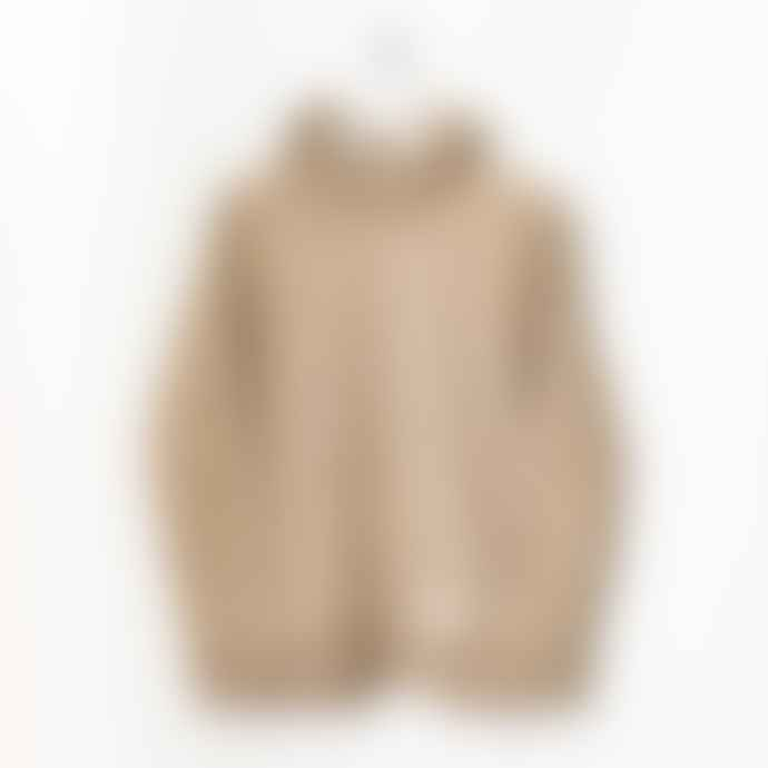 Born Clay Essentials Organic Cotton Hooded Heather Sweater