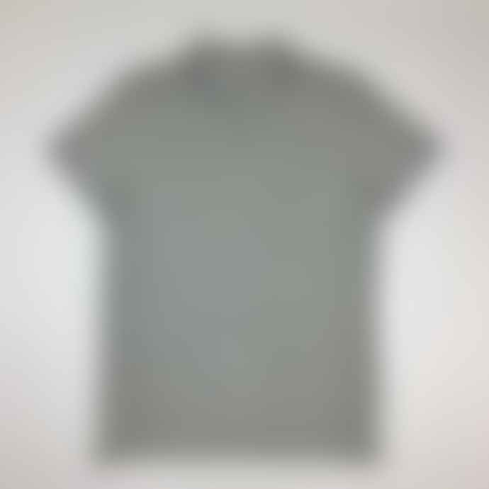 Born Heather Grey Essentials Organic Cotton Tipped Polo Shirt