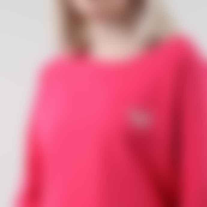 Black Pug Raspberry Girls Stock Logo Sweatshirt