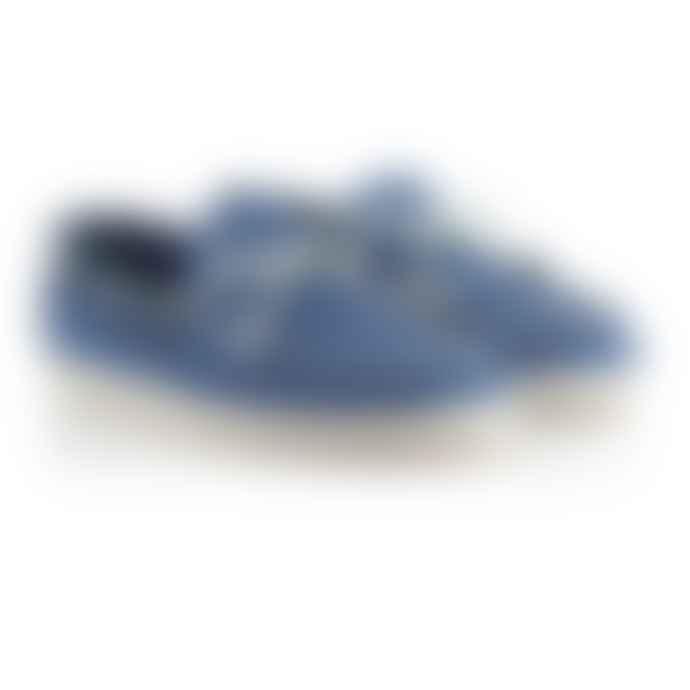 G.H. Bass & Co  Knitted Blue Bass Wilton Driver Weaver Shoe