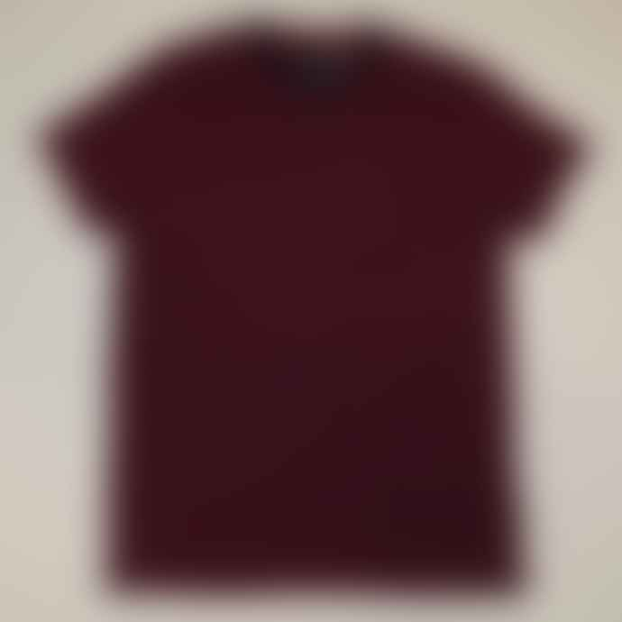 Deus Ex Machina Red Wei Indigo Stripe Tee Shirt