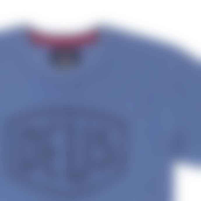 Deus Ex Machina Indigo Shield Tee Shirt