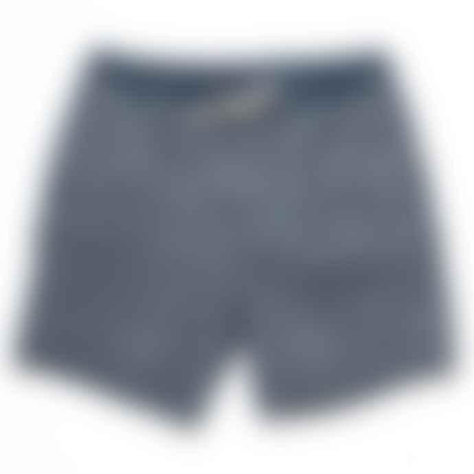 Deus Ex Machina Dark Denim Sandbar Eastern Maze Shorts