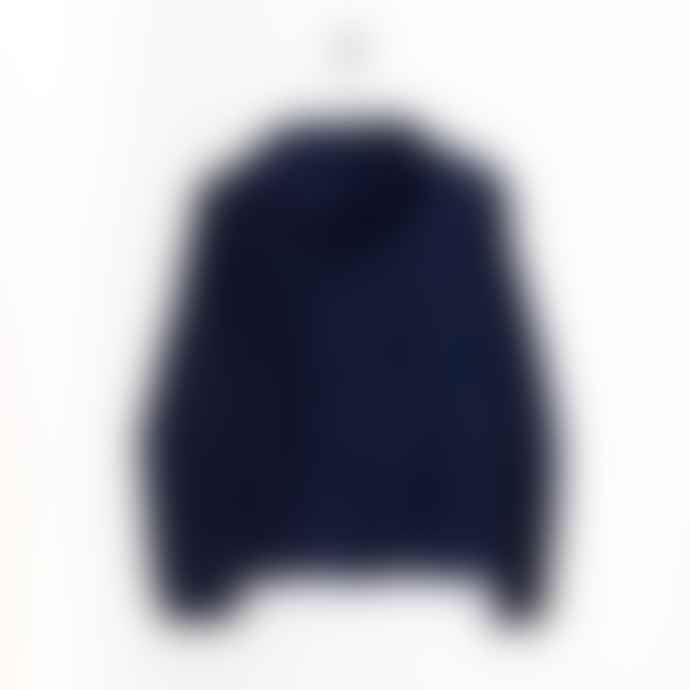 Born Navy Essentials Hooded Light Wind Jacket