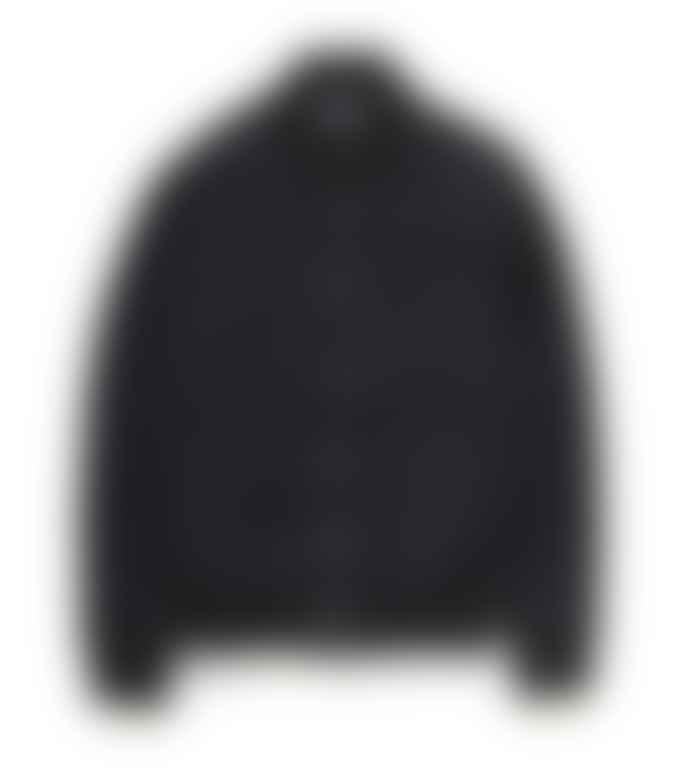 Deus Ex Machina  Black Chuck Fleece Bomber Jacket
