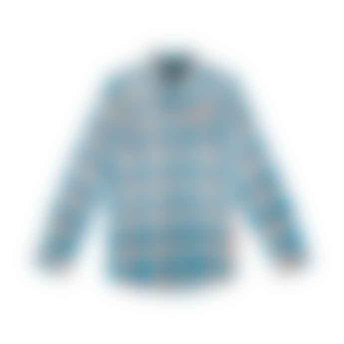 Deus Ex Machina Turquoise Bobby Check Shirt