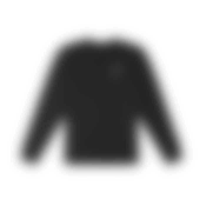 Deus Ex Machina Black Backtrack L S Tee Shirt