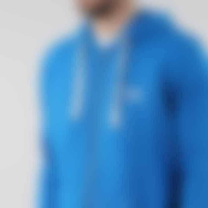 Black Pug Royal Blue Basic Zip Hoodie