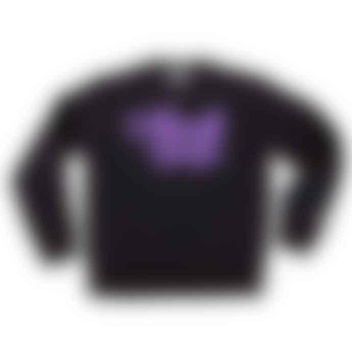 Black Pug Black Crew Stock Sweater