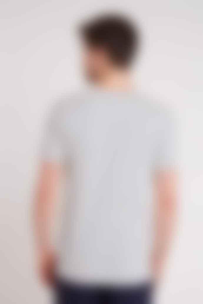 Hymn Striped Navy White T Shirt