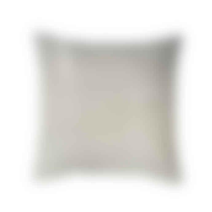 Broste Copenhagen Yellow Zigzag Cushion