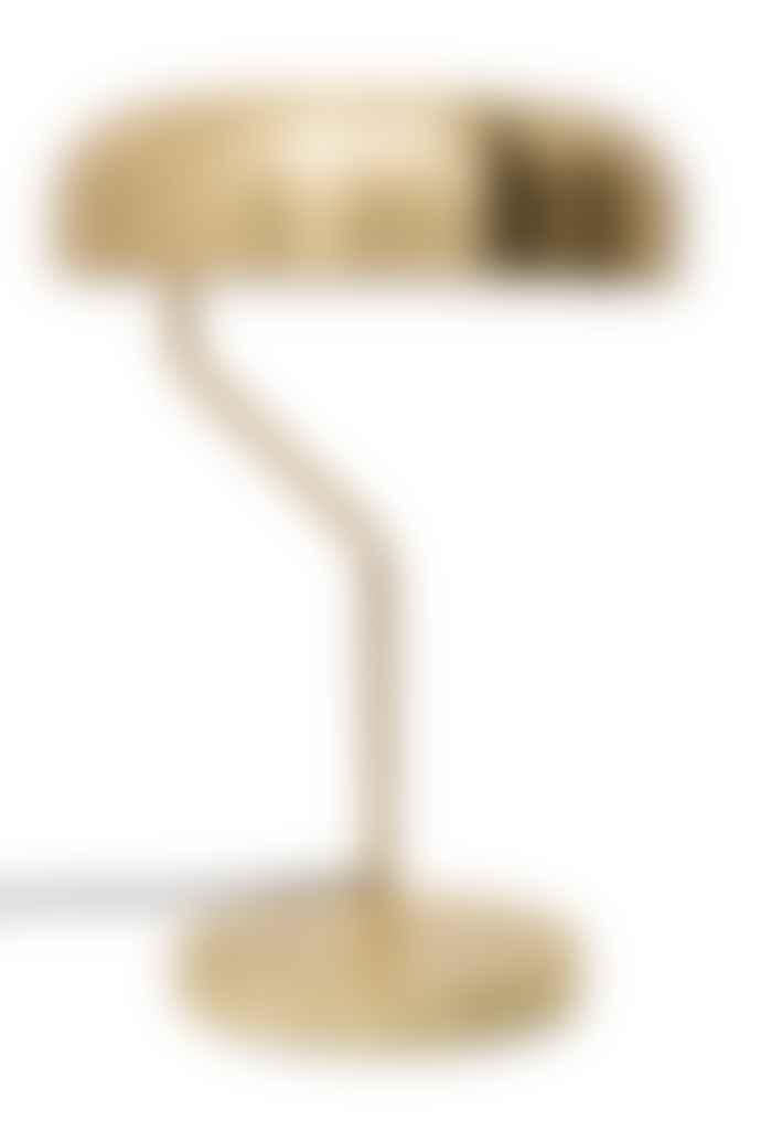 The Forest & Co. Brass Slim Domed Desk Light