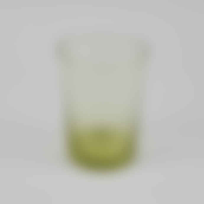 British Colour Standard Boxed Set of 6 Recycled Glass Tumblers - Tuscan Yellow