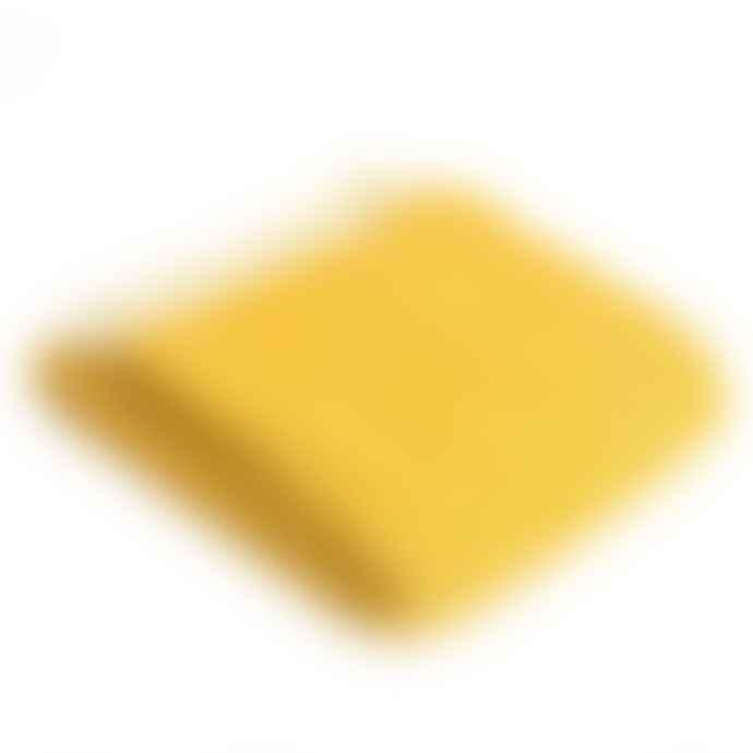 Tweedmill Mustard Yellow Beehive Wool Throw