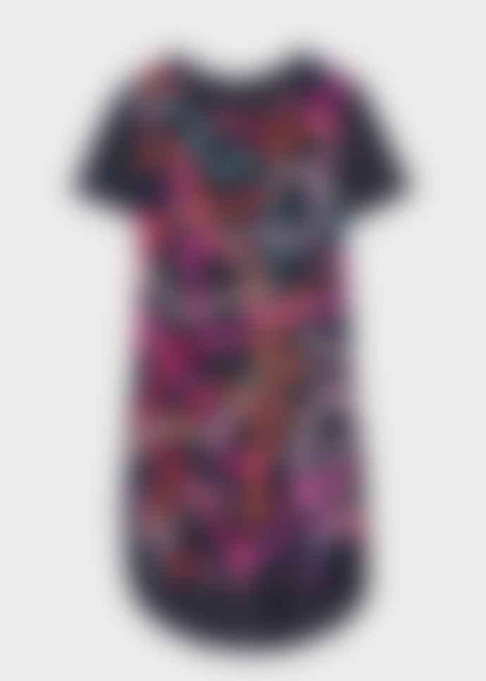 PS by Paul Smith Ribbon Print Jersey T-shirt Dress