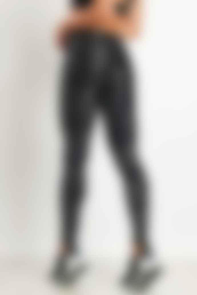 Terez Tall Band Hologram Foil Print Legging