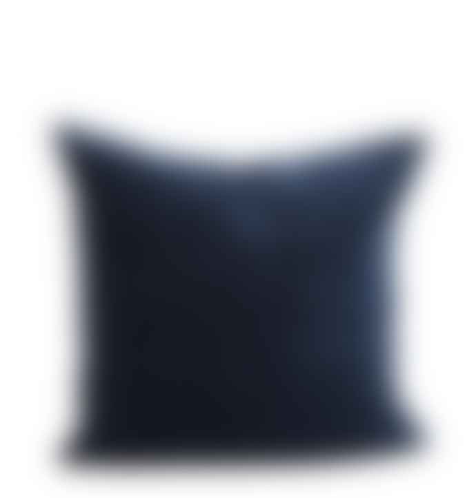 Madam Stoltz Sumptuous Teal Velvet Cushion