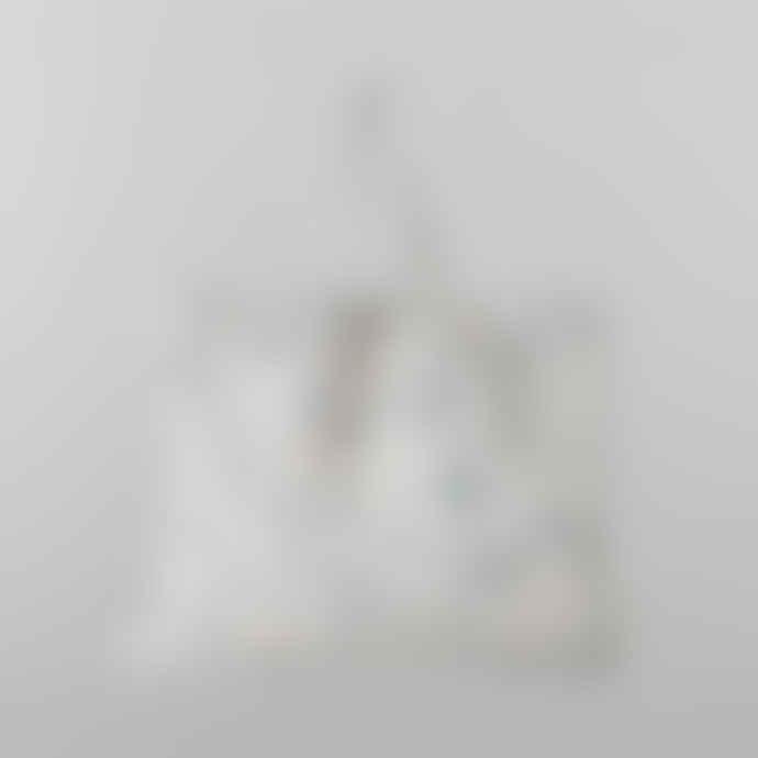 Ferm Living Large Grey Terrazzo Tote Bag