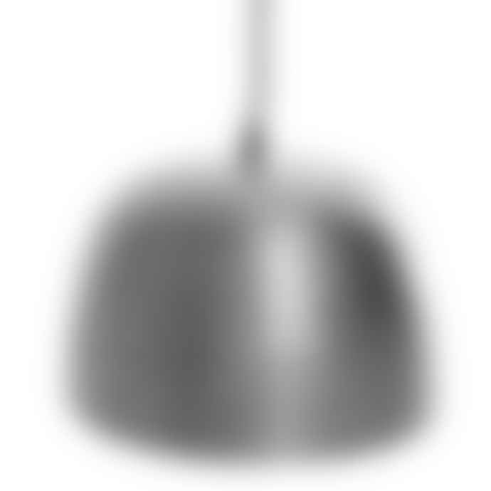 Tutti & Co Light Nickel Hammered Pendant