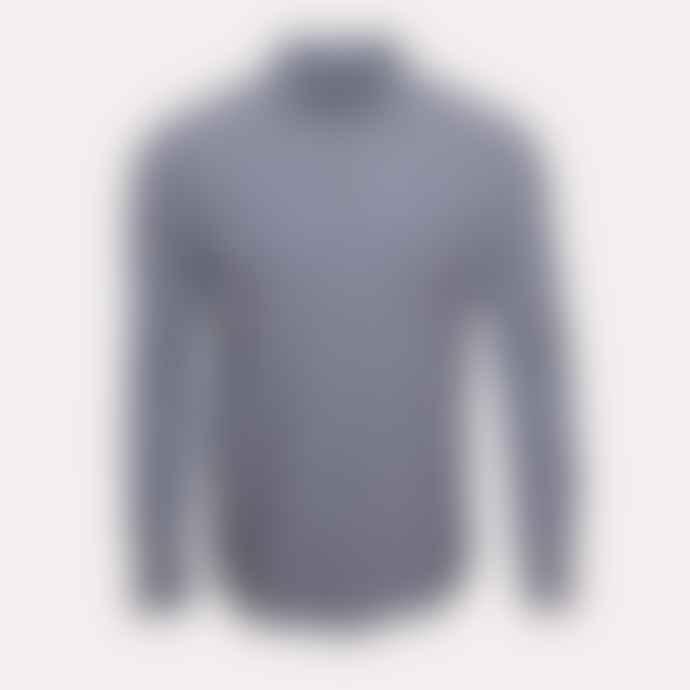 YMC Blue Dallas Stripe Curtis Shirt