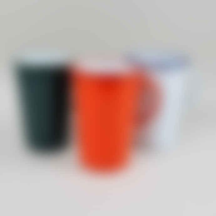 Falcon Enamelware 2 Pint Samphire Green Enamel Jug