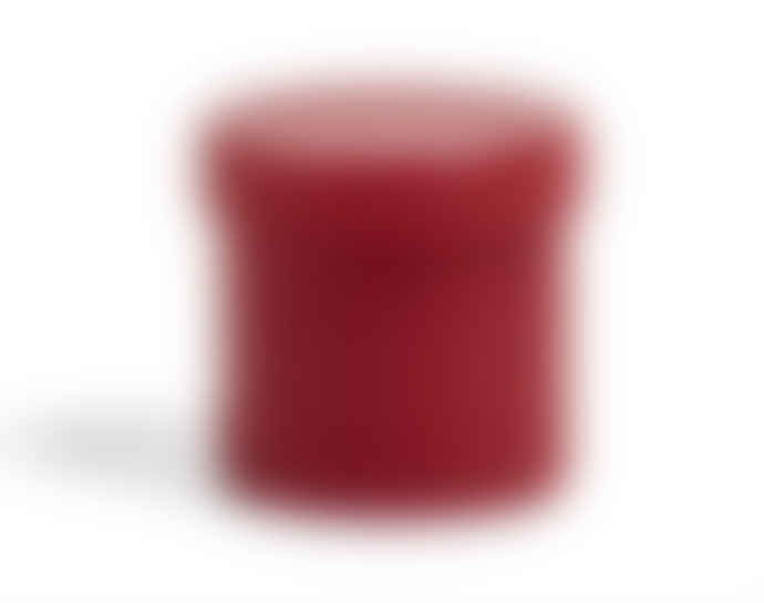 HAY Small Red Glass Container