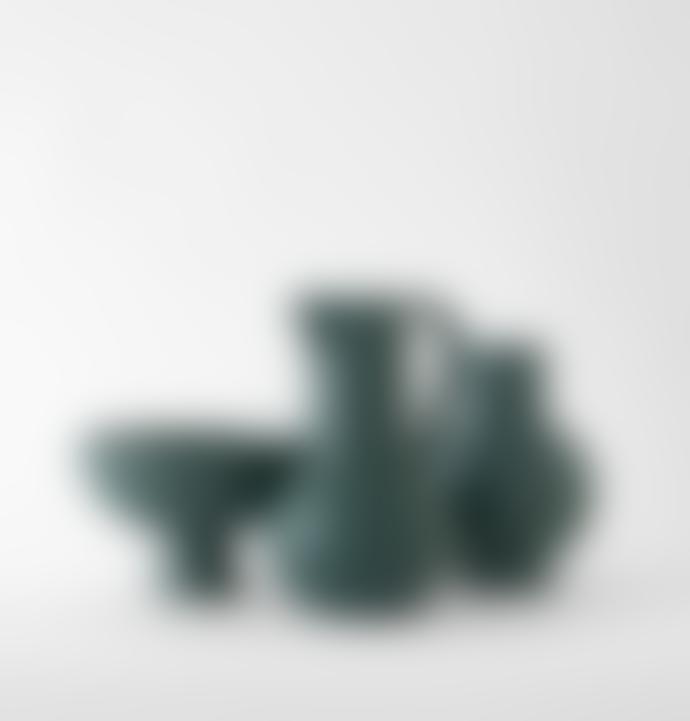 raawii Large Green Vase