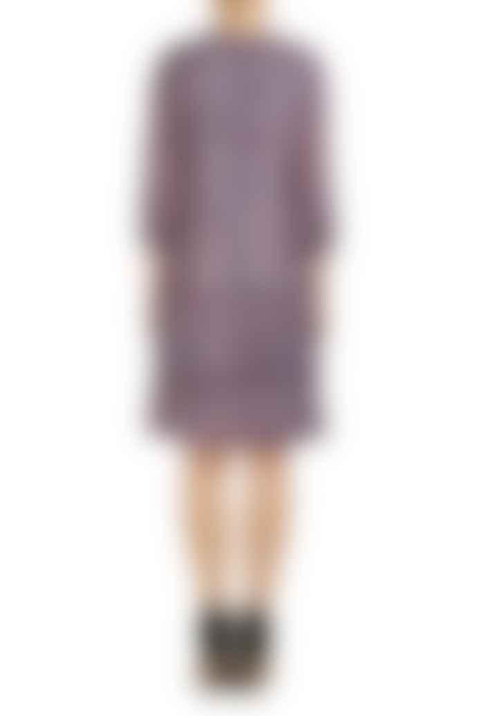 Set Fashion Abstract Print Floaty Dress