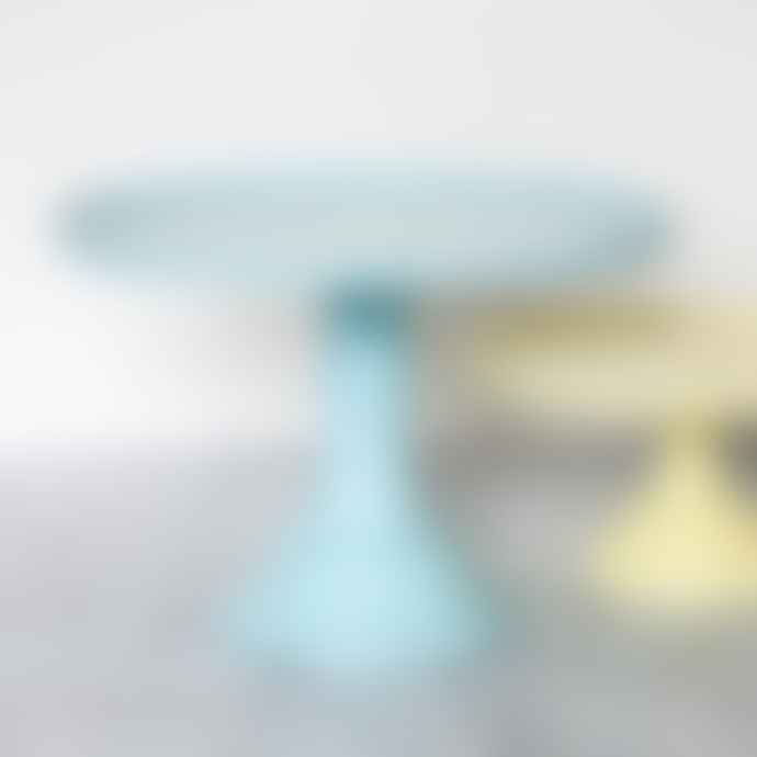 Hip Products LLC Large Blue Melamine Cake Stand