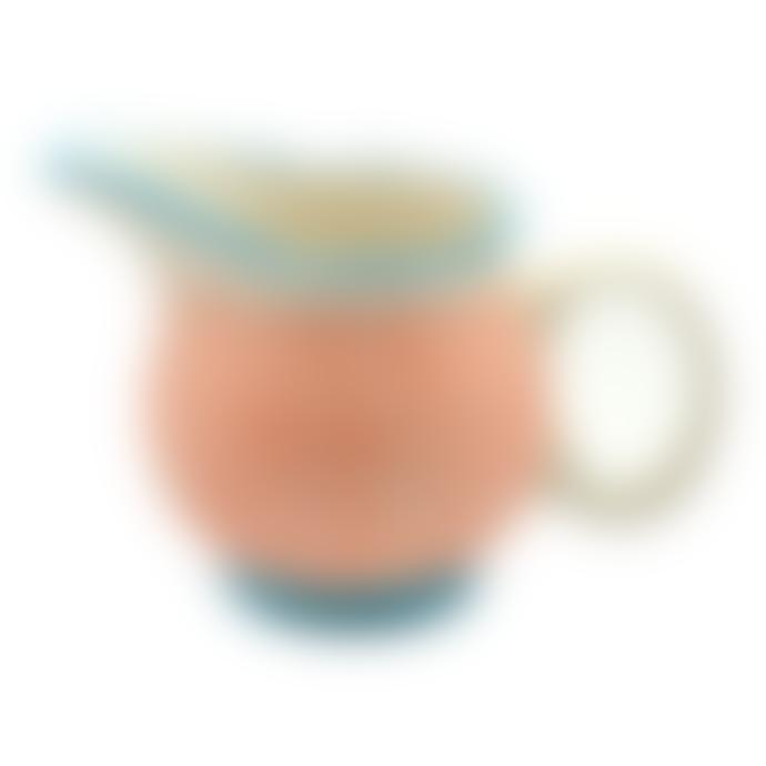 Juul at Home Orange Ceramic Gravy Jug