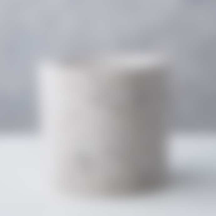 Conpot White Medium Concrete & Marble Flecked Pot