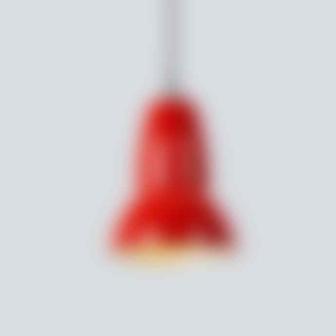 Anglepoise Red Mini Light Signal Pendant