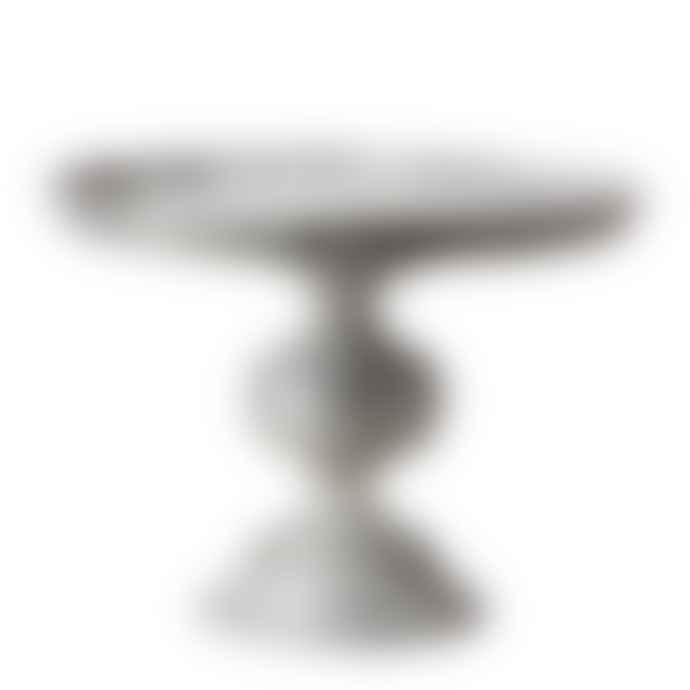 CollardManson Grey Antique Phoenix Cake Stand