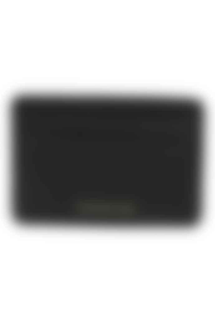 Escuyer Black Leather Cardholder