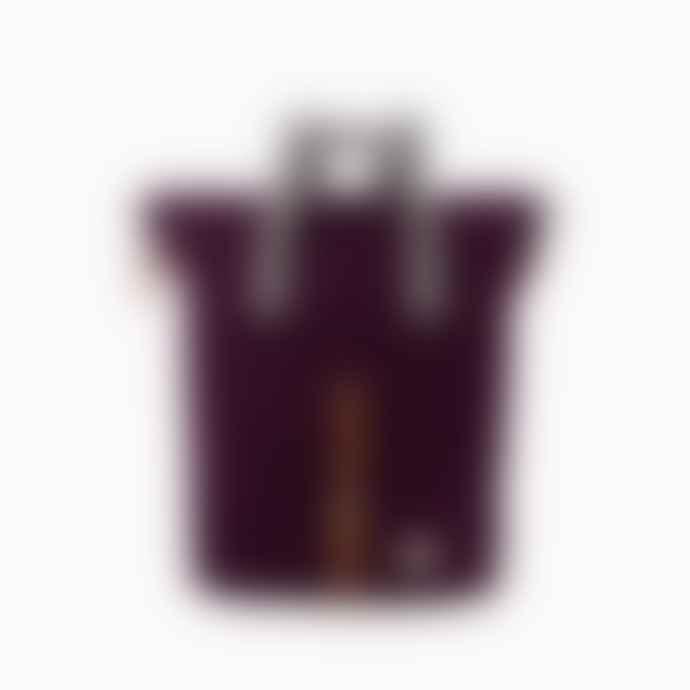 ROKA Plum Water Resistant Classic Rucksack