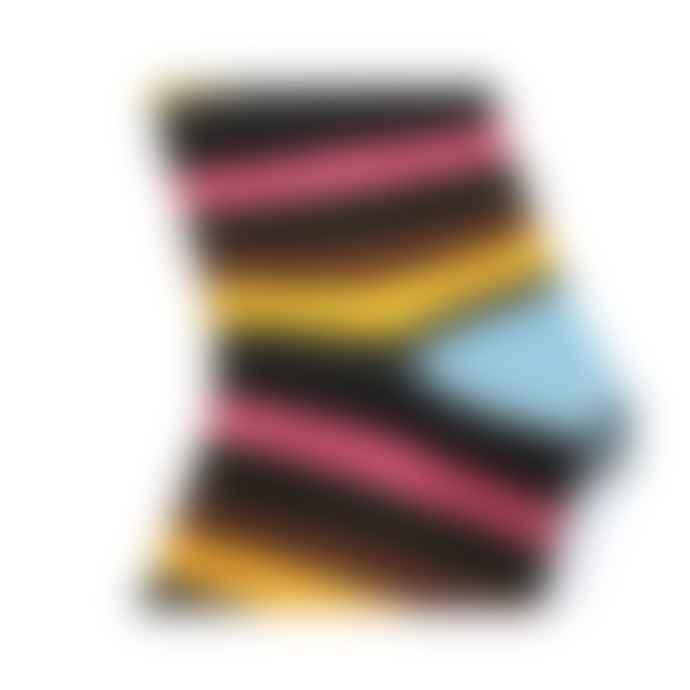 Burrows & Hare  Light Blue Stripe Sock