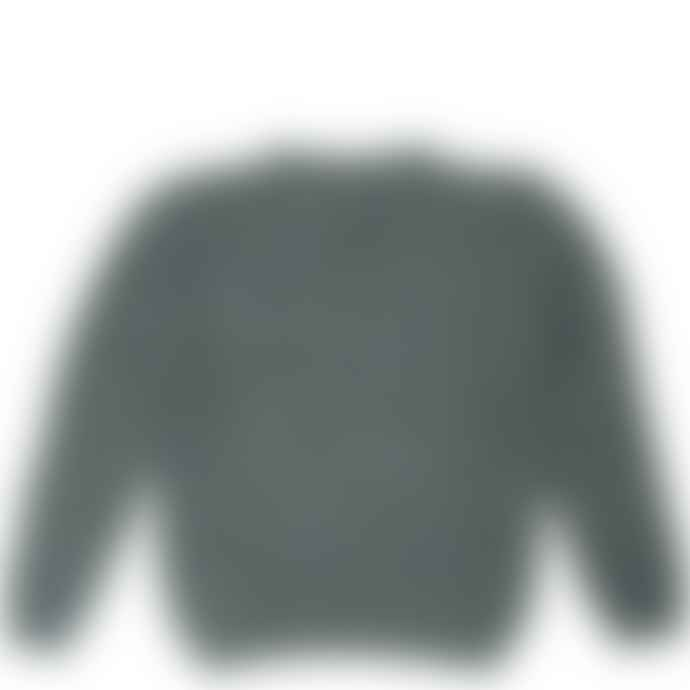 Burrows & Hare  Moss Burrows Hare Merino Donegal Wool Jumper