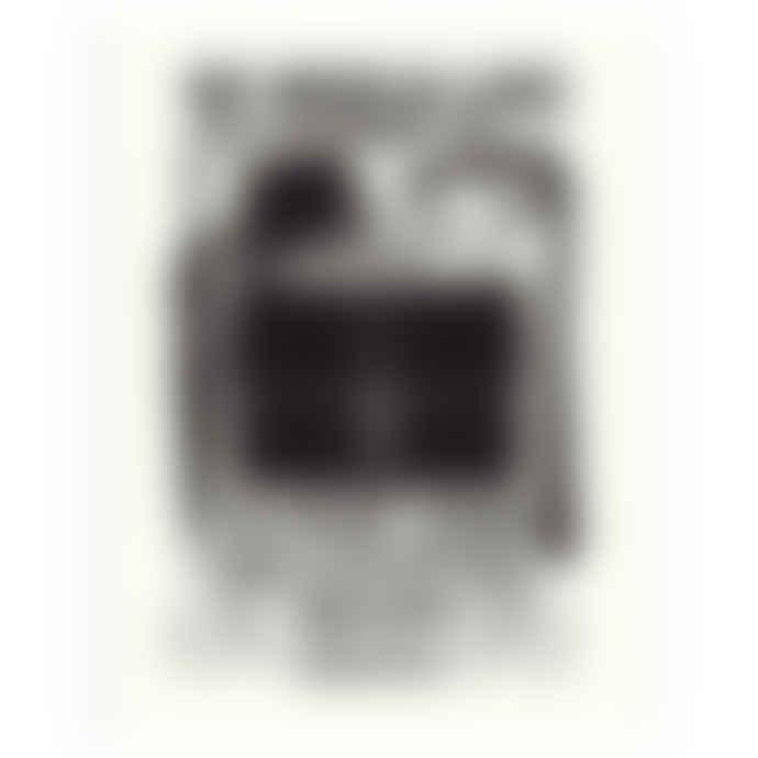James Brown Bags & Belongings Lino Art Print