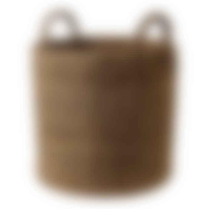 Maison Bengal Large Woven Hogla Storage Basket