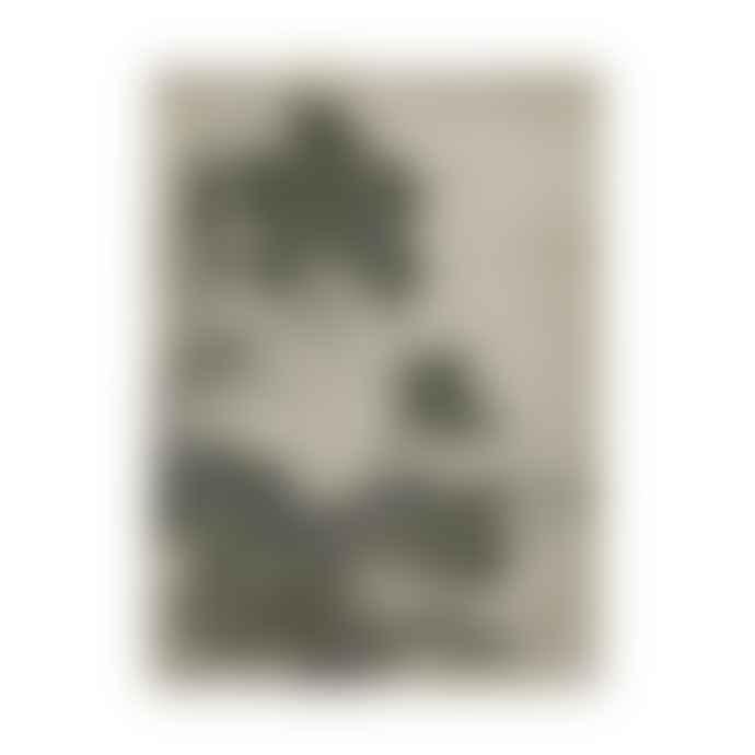CollardManson Floral Linen Wall Chart