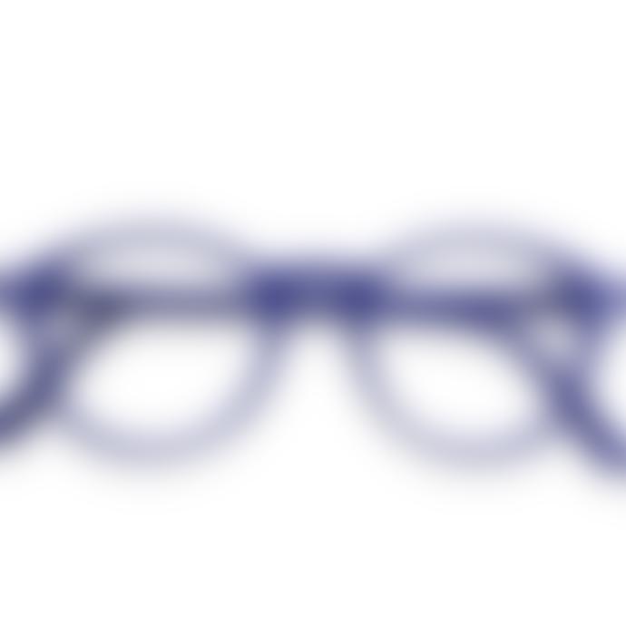 IZIPIZI Reading Glasses in Navy Blue (Frame Shape: #D)