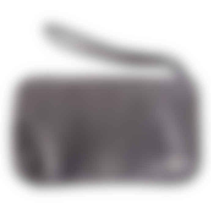 Naterra Nael Soft Leather Clutch Pewter Bag