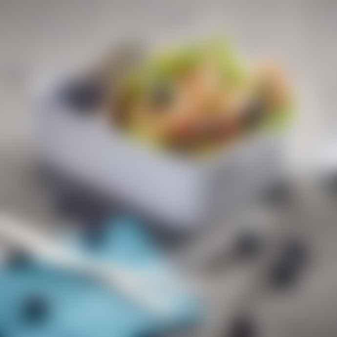 Mepal Rosti Bento Lunch Box Take A Break Large in White