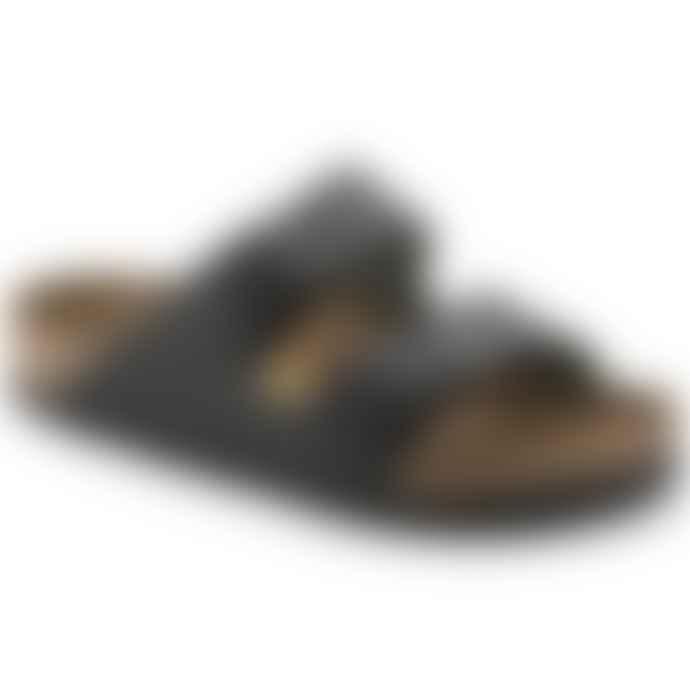 Birkenstock Black Arizona Sandal Leather