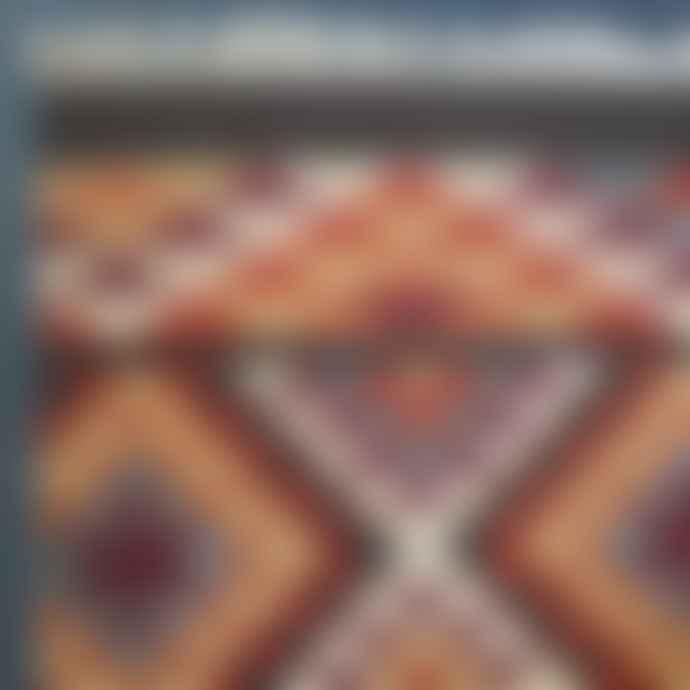 Hunter Jones Kilim  Hand Loomed Wool Cotton Rug