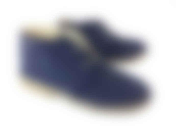 Jonny's Blue 45 Jon Serraje Afelpado Desert Boots