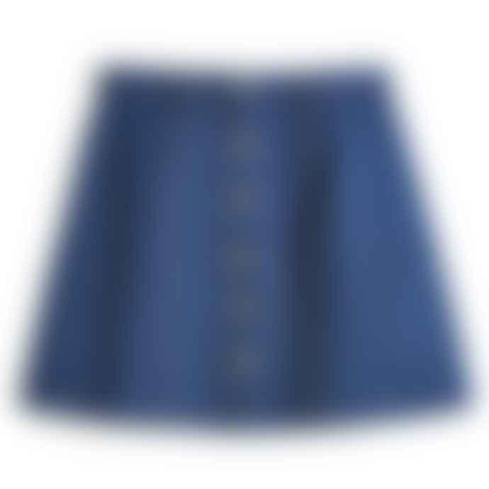 Mamamushi-Studio Dark Blue Janisse Jean Skirt